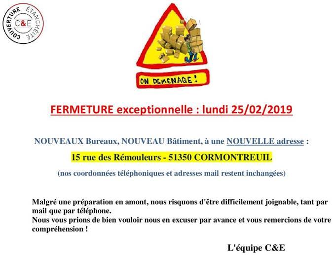 C&E COUVERTURE & ETANCHÉITÉ